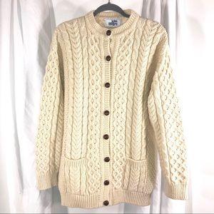 John Malloy Ireland Cardigan Sweater, Size 16W